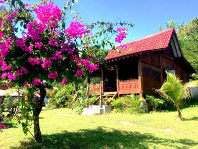 Photo for 20% OFF! Beachfront Bungalow for 4!