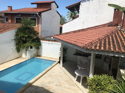 Photo for High Standard - 4 Qtos 2 suites w split air conditioning pool c cascade barbecue