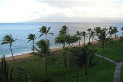 Ocean Front View from Balcony