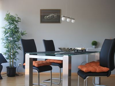 Photo for Apartment with a balcony overlooking the Rhine - 65sqm 2 5 room apartment with balcony and view of the Rhine