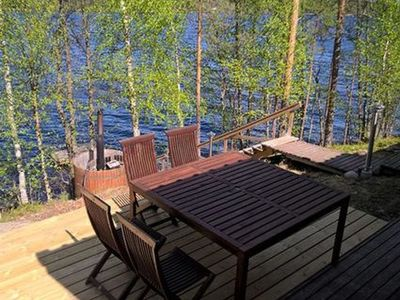 Photo for Vacation home Hot pool cottage iitu in Enonkoski - 6 persons, 2 bedrooms