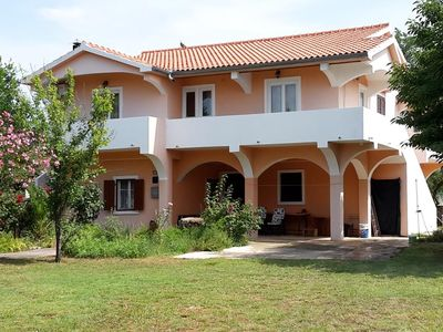 Photo for Four bedroom apartment with balcony Privlaka (Zadar)