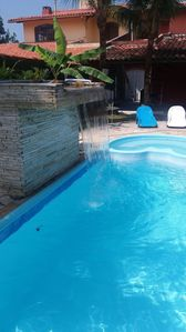 Photo for House in condominium beach house, swimming pool with waterfall and whirlpool