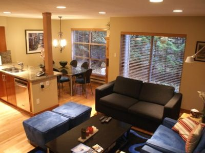 Photo for Spacious Family Property, Private Garage, Blackcomb Mountain Access