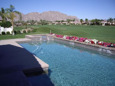 Photo for Gorgeous PGA West Golf Course, Pool Home with View