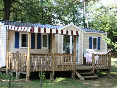 Photo for Camping Domaine du Lac Miel **** - Cottage Family 4 Rooms 6 People