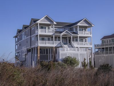 Photo for Massive Oceanfront, Luxury, 8 bedroom suites, Pools, Hot Tubs, Theater, Elevator