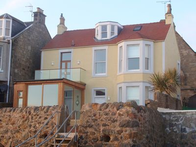 Photo for Beach house in Lower Largo with direct access to the sea and beautiful views