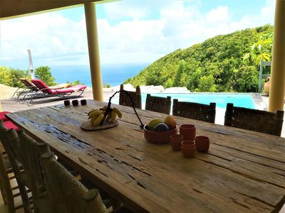 Photo for La Kazablanca in Marie-Galante sea view and pool