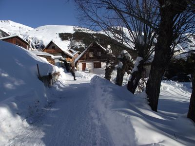 Photo for Quiet, Ski on foot, private entrance