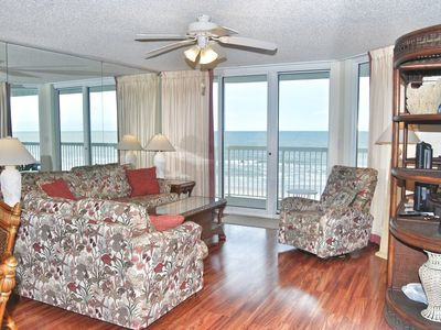 Photo for Sunrise Pointe 4G-  Oceanfront condo with the the perfect view!!!