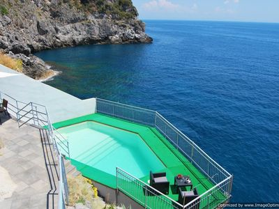 Photo for Luxury villa on Amalfi Coast, Amalfi Coast villa with view, private will with pool Amalfi Coast