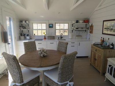 Photo for Sophisticated decor with an amazing use of space throughout this two bedroom (1 king and 2 twins) cottage.