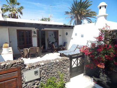 Photo for Casas del Sol air conditioned 2 bedroomed luxury villa in Playa Blanca