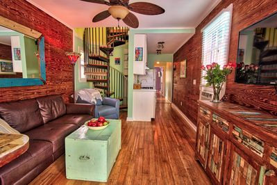"""""""Cigar conch"""" historic home. Hardwood floors and many updated features."""