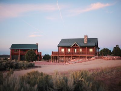 Photo for Luxurious Cabin minutes from all Southern Utah National Parks with 15 beds