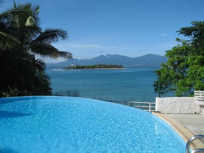 Photo for Dream apartment with infinity pool and views of the Îlet du Gosier