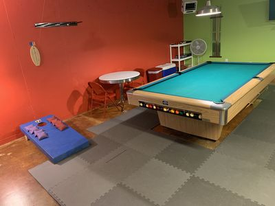 GAME ROOM plus HOT TUB and much more