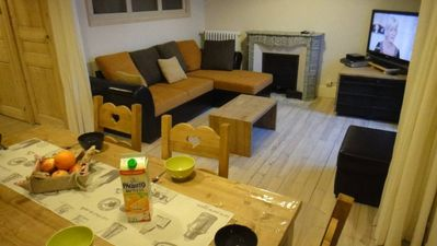 Photo for Douceur Mont Blanc spacious apartment in the village center