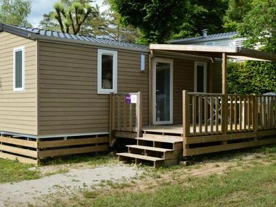 Photo for Camping Le Moulin **** - Mobile Home Premium TV 3 Rooms 4/5 People