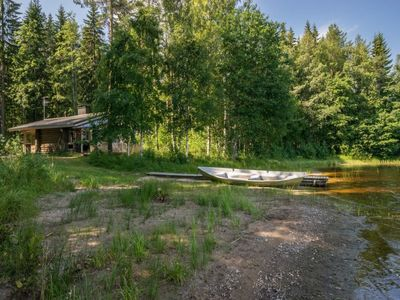 Photo for Vacation home Lemmenmaja in Juva - 3 persons, 1 bedrooms