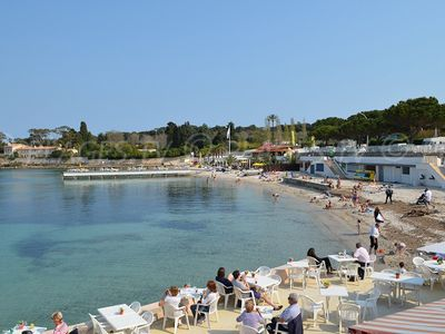Photo for STUDIO 2 PEOPLE IN ANTIBES 5 minutes walk from the sandy beach.