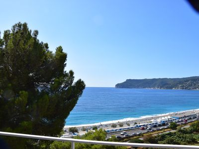 Photo for Stunning 250m2 sea view villa, 200mt from the beach