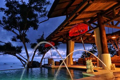The Tree House is a stunning Balinese Styled villa for your next vacation.