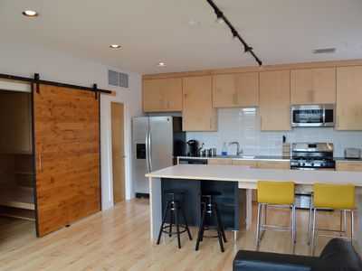 Fully furnished downtown loft with large balcony