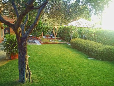 Photo for Flowering apartment 80sqm 3 rooms 6 places, hall, kitchen, balcony, barbecue
