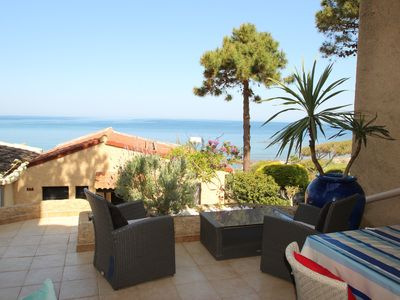 Photo for Seaside apartment in Sant Ambroggio between Calvi and Ile Rousse