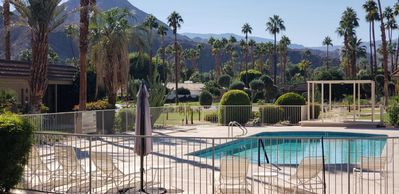 Photo for Prime location steps to pool and mountain views Indian Wells walk to restaurants