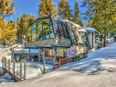 Photo for Modern Cabin, Panoramic Lake Tahoe Views, @ Heavenly Ski Slopes, Near State line