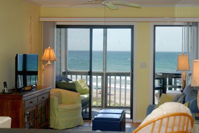 Beach Chic In Atlantic Beach! - Fully Renovated Ocean Front Condo With  Pool!! - Atlantic Beach