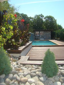 Photo for Luxury  Little Cottage -  Sleeps 6 with private swimming pool Amou, 10 km Orthez
