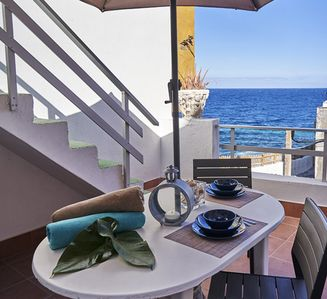 Photo for BEAUTIFUL APARTMENT IN FRONT OF THE SEA !!!!
