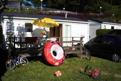 Photo for Camping Beau Rivage **** - Mobil Home Cottage 3 Rooms 4 People