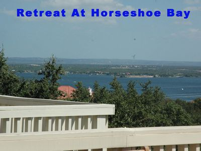 Photo for Spacious Townhouse Overlooking Lake LBJ with Tennis & Swimming