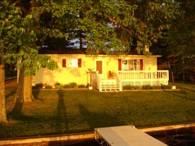 Photo for Beautiful Sunsets Over the all sport's, quiet Crawford Lake. Year round rental!