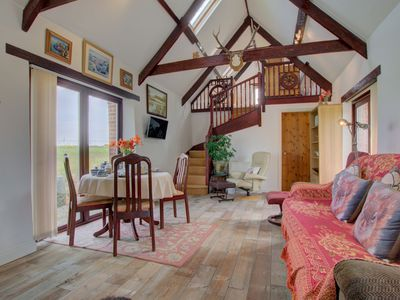 Photo for Country cottage with fireplace, high ceilings and wooden beams