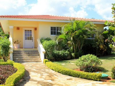 Photo for The perfect holidays: 2BD villa with pool/tennis/basket/soccer near beach/shops