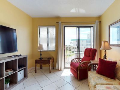 Photo for NEW LISTING! Condo by the beach w/ Gulf views plus shared pool & hot tub