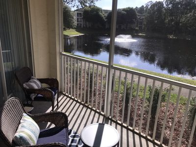 Photo for Beautiful Water View Condo Relocation Special available July-December lease!!