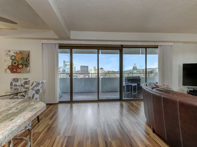 Photo for Beautiful views of downtown Boise and the foothills!