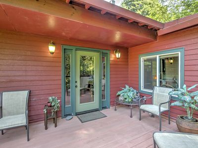Photo for 2BR Cabin Vacation Rental in Guerneville, California