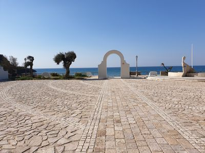 Photo for IN THE CENTER OF SPERLONGA 100 METERS FROM THE SEA