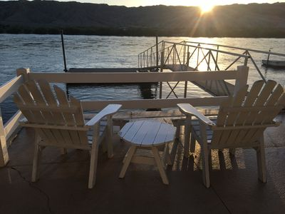 Photo for River Front Home w/ Private Dock and Workout Room-Jan-Mar Special Rates -