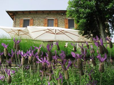 Photo for Country house near Arezzo with swimming pool and beautiful views