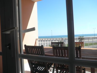 Photo for LUXURIOUS FACING THE SEA Internet, air conditioning, garage