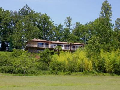 Photo for The Prioule, architect-designed house with pool in Purple Perigord for 6 people